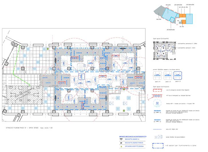 Progettazione esecutiva Nuofi Uffici Noventa di Piave (VE)